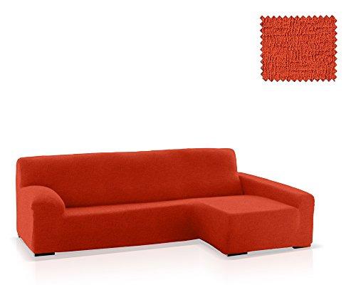 JM Textil Copridivano Chaise Longue Eneasis, bracciolo Destro, Dimensione Standard (220-280 Cm.), Colore 09 (Vari Colori Disponibili)
