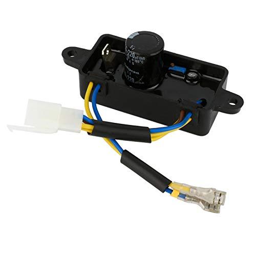 Regulador de voltaje 1PCS, rectificador AVR monofásico, para generador eléctrico de motor...