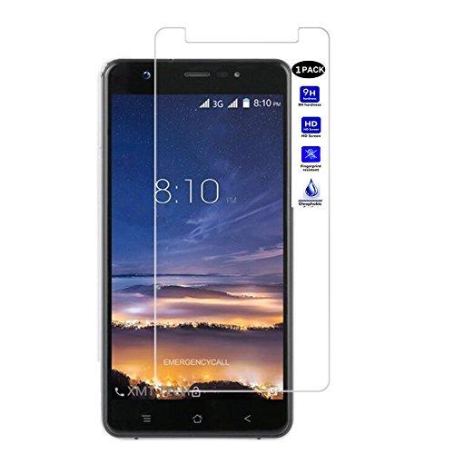 "XMT Blackview R6 Lite5.5"" Protector de Pantalla,0.3mm Dureza de Grado 9H Protector de Pantalla de Vidrio Templado Cristal Protector para Blackview R6 LiteSmartphone (1 Pack)"