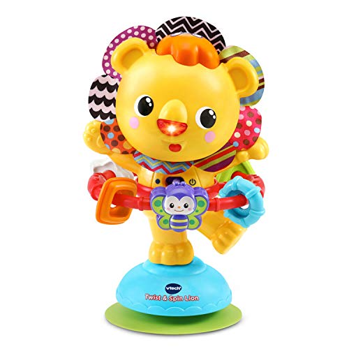 VTech Twist and Spin Lion, Yellow