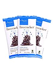 HIT EVERY TASTE BUD : The Firecracker is a dark chocolate featuring hints chipotle and sea salt, until the popping candy starts the party! MADE THE EUROPEAN WAY: Fine artisan chocolatiers abroad know that small batches make for the best results and s...