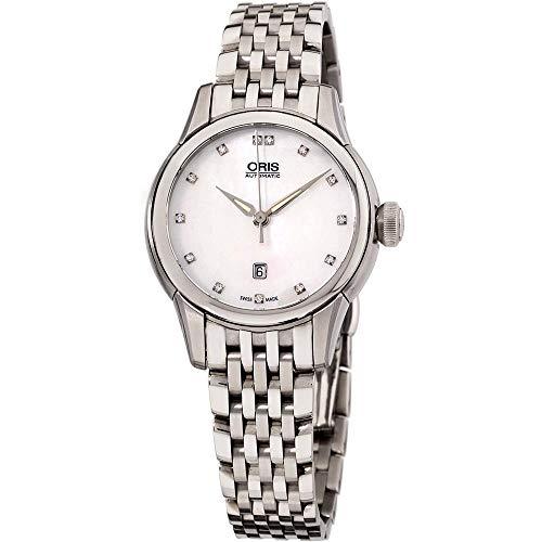 Oris Artelier Date Damen-Armbanduhr Diamant 31mm Automatik 01 561 7687 4091-MB