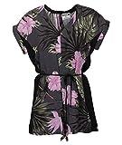 Hurley W Printed Woven Romper Vestido, Mujer, Anthracite, L