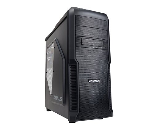 Zalman Z3 Plus ATX/M-ATX Tower Case - Black