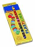 Jovi-725265 Caja de 15 Barras de plastilina, Color Surtido Multicolor (216047)