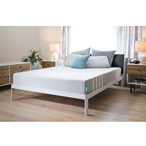 Leesa 10' Memory Foam Mattress in a Box, Luxury CertiPUR-US Certified 3 Layer Foam...