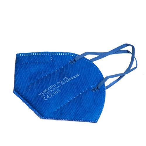 ProMedicalCare. Mundschutz FFP2 Maske blau, Mundschutz Maske FFP2 blau, Masken Mundschutz FFP2, 10er Pack (einzelverpackt)