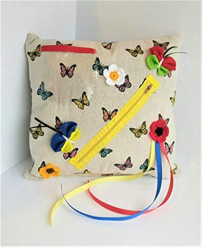 Zappeln Sie Kissen Schmetterlinge - wohlriechende sensorische Tätigkeit für Senioren