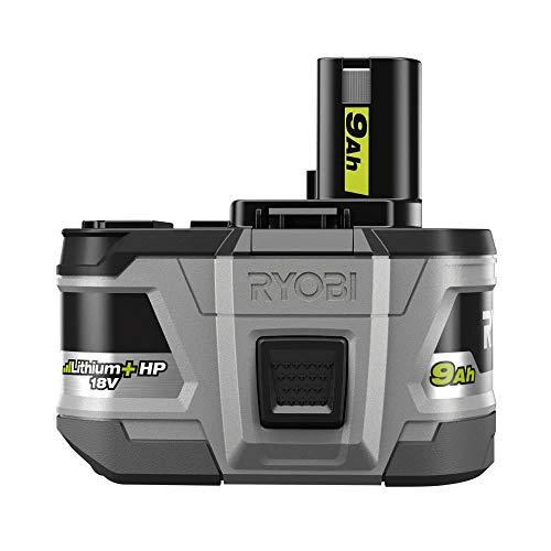 Ryobi 18-Volt Lithium + HP High Capacity 9.0 Ah Battery