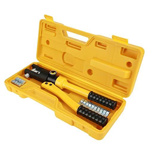 Crimpadora hidráulica de 10 a 120 mm², 10 a 300 mm², alicates, terminales de cable