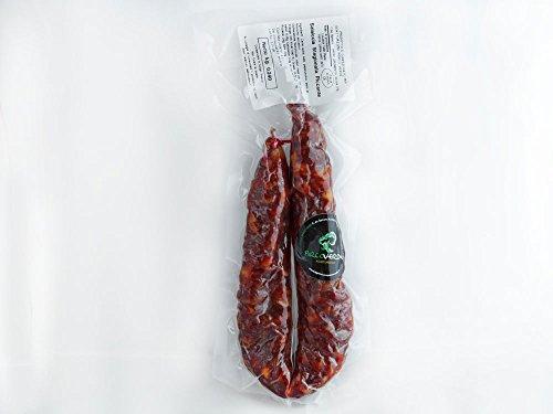 Salsiccia piccante stagionata di carni nobili