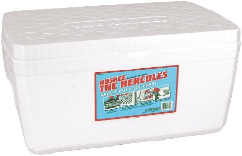 Lifoam 5345 Hercules Styrofoam Ice Chest, Huskee Collection, 45 Quart