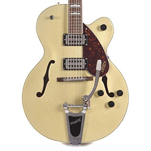 G2420T Streamliner Hollow Body with Bigsby Golddust