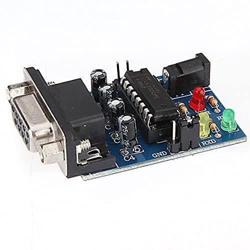 Módulo electrónico Chip de transferencia de RS232 a TTL Módulo Convertidor Con...