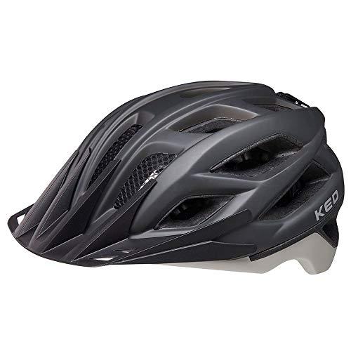 KED HELMETS Companion Fahrradhelm/E-Bike/Mountainbike/Trekkinghelm, Mattes Schwarz, L 56-62 cm