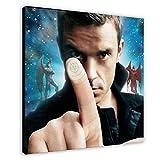 Robbie Williams Album Cover – Intensive Care Leinwand