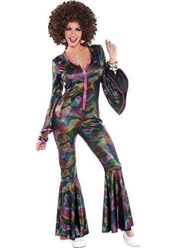 amscan - 843060-55 - Une Combinaison Disco pour Femme - Taille Unique