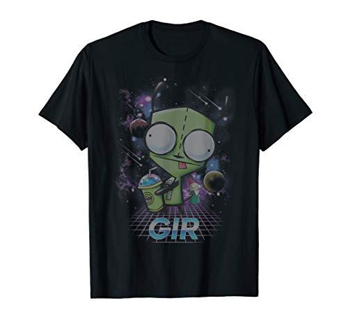 Nickelodeon Invader Zim - Gir Slushee Adventure T-Shirt