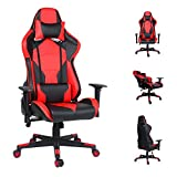 <span class='highlight'><span class='highlight'>EUCO</span></span> Gaming Chair Racing Style Computer Chair Ergonomics PC Chair High Back Reclining Executive Office Chair with Adjustable Armrest and Lumbar Support,Well Padded