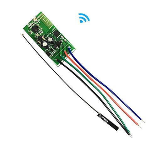 OWSOO Interruptor Inteligente WiFi, 12V DC, WiFi Smart