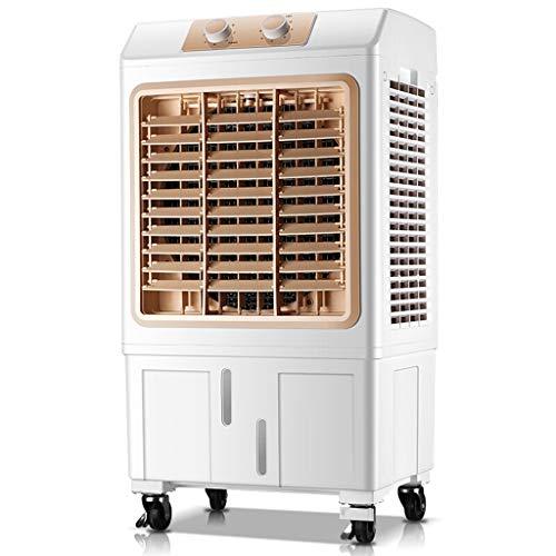 PIGE Ventilateur de climatisation Simple, Ventilateur de climatisation Mobile Climatiseur à Condensation par Eau avec déshumidificateur Refroidisseurs à évaporation Dortoir