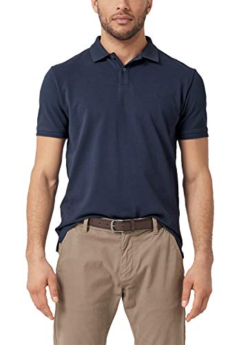 s.Oliver Herren 03.899.35 Poloshirt, Blau (Midnight 5798), Medium