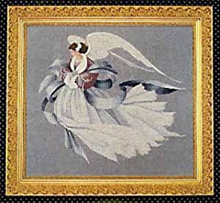 Lavender & Lace - Angel of Winter - Victorian Counted Cross Stitch Pattern (L&L 33)