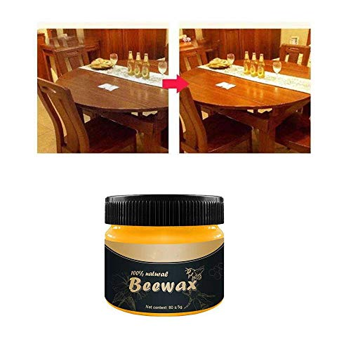 2020 Upgrade-Wood Seasoning Beewax-Traditional Beeswax Polish for Wood & Furniture