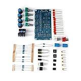 Wilecolly Conjunto de Bricolaje de Placa de preamplificador, Amplificador de preamplificador AMP, Placa de Control de Tono de Volumen, Juego de Bricolaje, Kits de Tono bajo/Medio/Alto