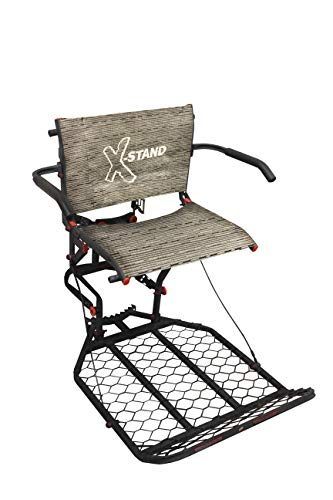 X-Stand Treestands The Patron Hang On Treestand with Backrest and Armrest