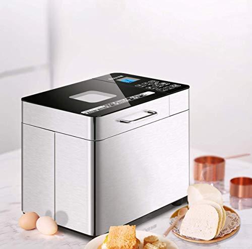 12-in-1 automatisch programmeerbare broodbakmachine, automatische broodmachine met LCD-display, 15 uur vertragingstijd 1 uur warm houden, vaatwasmachinebestendige pan