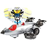 Minions: ld Rider Remote Control Vehicle Bob Action Figure, Makes a Great Gift for Kids 4 Years and Older