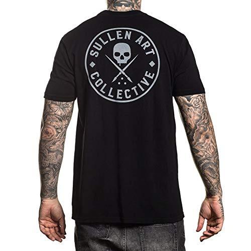 Sullen Men's Ever Short Sleeve T Shirt Black 2XL