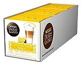 NESCAFÉ Dolce Gusto Latte Macchiato Vanilla | 48 Kaffeekapseln | Feines Vanille Aroma und leckerer Milchschaum | Arabica Robusta Mischung | Aromaversiegelte Kapseln | 3er Pack (3 x 16...