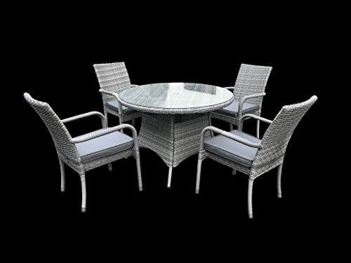 PAGODA Tuscany Dining Set 4 Seat [PAGTUDSET4]