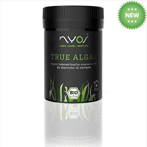 True Algen Bio ausgeglichenen Aquarium Fischfutter Pellets 0,9–1,5mm 70g