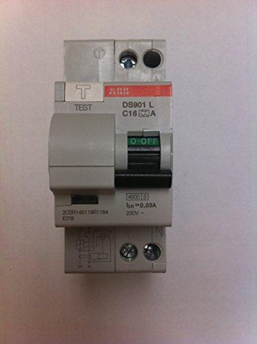 Abb Ds901L C16 30Ma a Interr.Differ.4.5Ka 1P+N, White