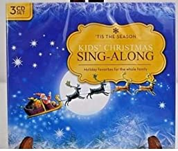 Kid's Christmas Sing-along 3 CD Set 'Tis The Season Holiday Favorites for the Whole Family