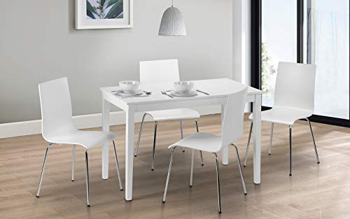 Julian Bowen Taku Dining Table, White