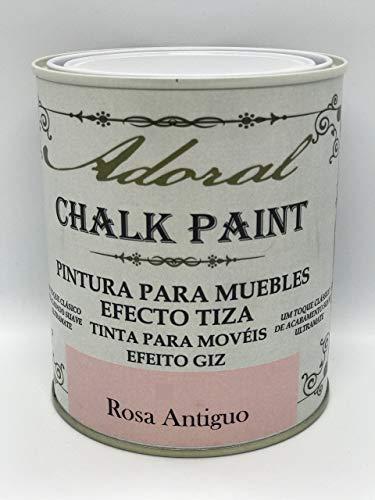 Adoral - Chalk Paint Pintura para muebles Efecto Tiza 125 ml (Rosa Antiguo)