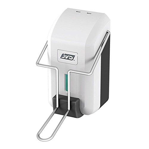 JVD - Distributeur de Désinfectant avec Palette Poussoir - pour Gel Hydroalcoolique ou Savon Gel (Non Inclus)