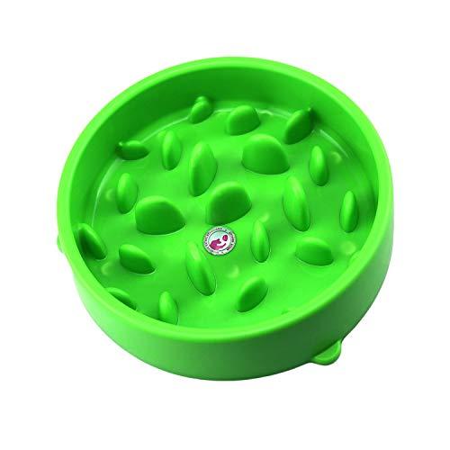 qazxsw Joyoldelf Slow Feed Dog Bowl Interactive Bloat Stop Pet Feed Bowl - Slow Down Eating Size 20.5185CM
