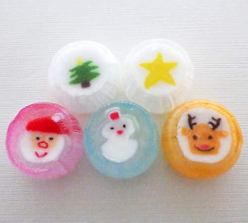 クリスマスキャンディ 50個入り 個包装 5種ミックス お菓子 2020年版 クリスマス 飴