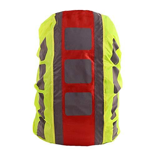 Rubyu Regenschutz für Rucksack Schulranzen wasserdichte Regenhülle Schulranzen mit Reflektorstreifen, für Wandern, Camping, Radfahren, Reisen und Ranzen