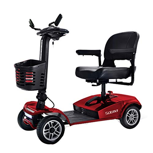 Amazing Deal JCOCO T1 Transformer Automatic Folding Scooter for Adults and Seniors, RED, Lightweight...