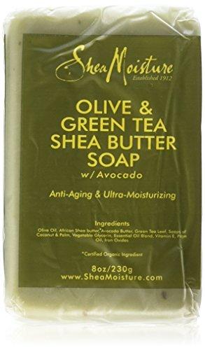 Shea Moisture Olive & Green Tea Shea Butter...