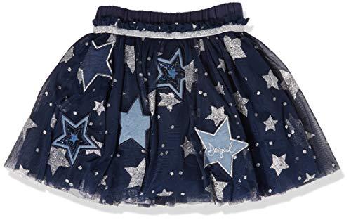 Desigual Fal_Star Kleid, Blau (Navy 5000), 128 (Herstellergröße: 7/8)