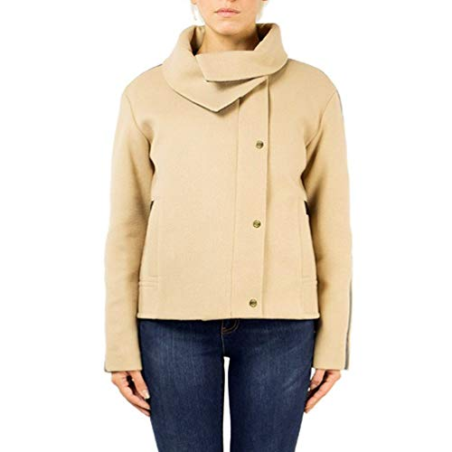 Hogan Luxury Fashion Donna KJW03310060HAPC813 Beige Lana Blazer | Stagione Permanente