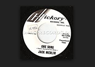 One Song (frank E.Churchill & Larry Morey) Mechanical Man (Felice & Boudleaux Bryant) 45