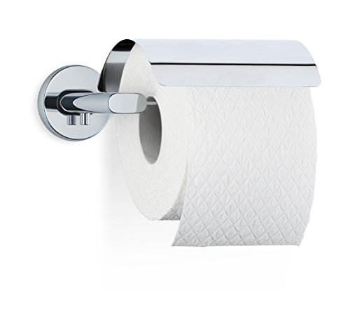 Blomus AREO WC-Rollenhalter, Edelstahl poliert, 15.5 x 16.5 x 5.7 cm